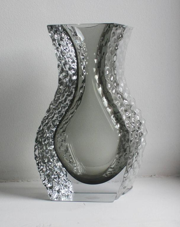 Mandruzzato Murano Art Glass Vase by Cavagnis 2