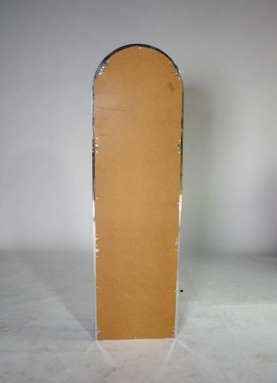 Late 20th Century Pace Collection Entryway Free Standing Racetrack Mirror For Sale