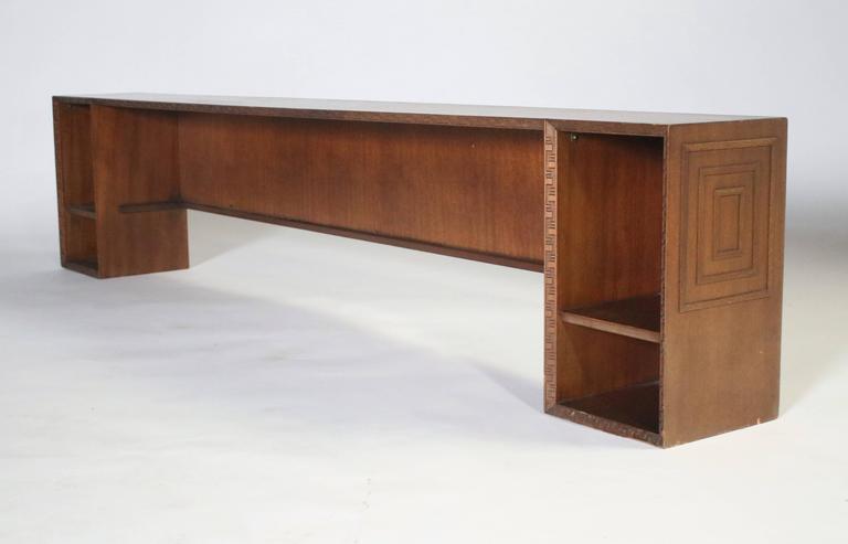 Frank Lloyd Wright Gallery Deck 4