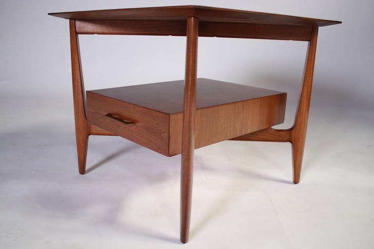 John Stuart Single Drawer End Tables Nightstands For Sale 1
