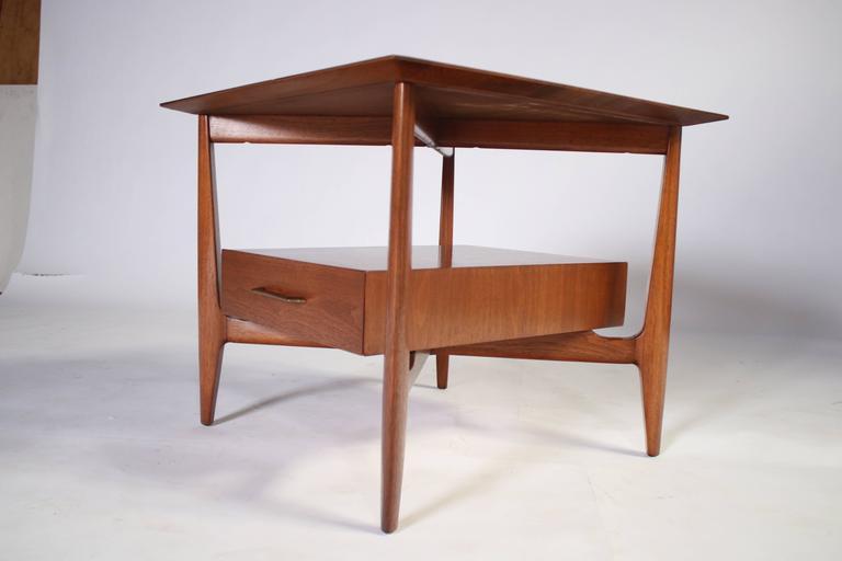 John Stuart Single Drawer End Tables Nightstands For Sale 3