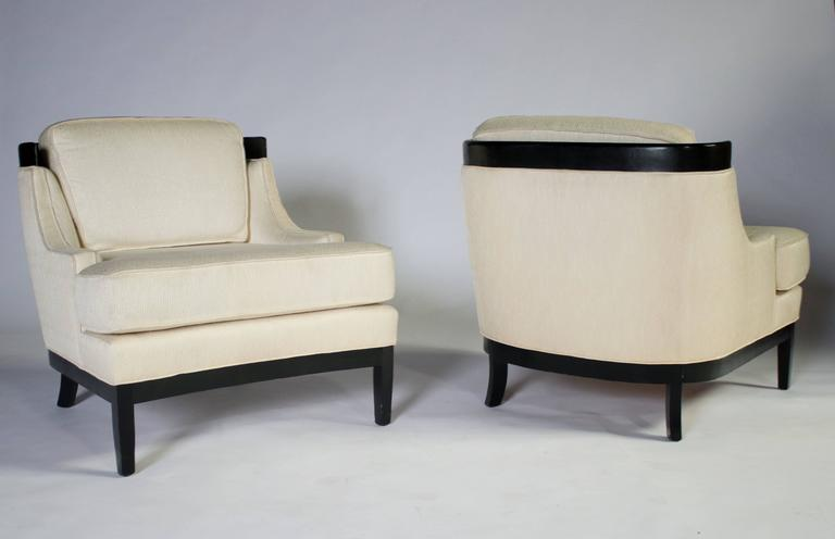Pair of Erwin Lambeth Lounge Chairs for Tomlinson 2