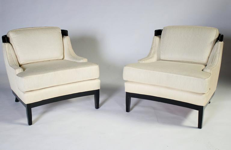 Pair of Erwin Lambeth Lounge Chairs for Tomlinson 4