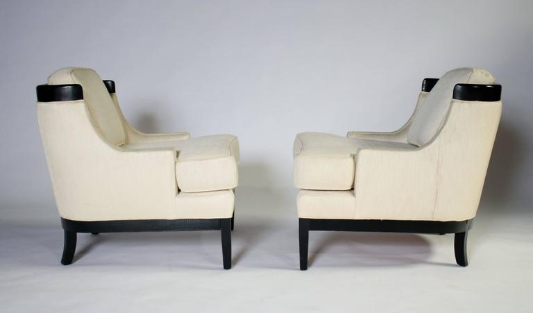 Pair of Erwin Lambeth Lounge Chairs for Tomlinson 5