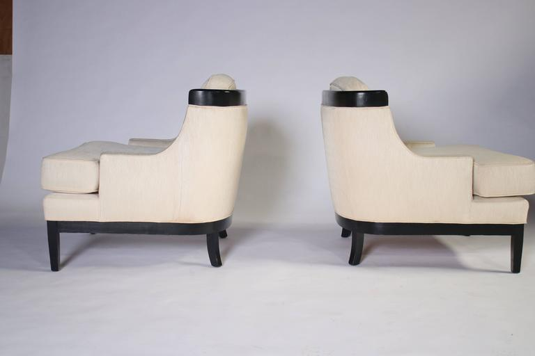 Pair of Erwin Lambeth Lounge Chairs for Tomlinson 7