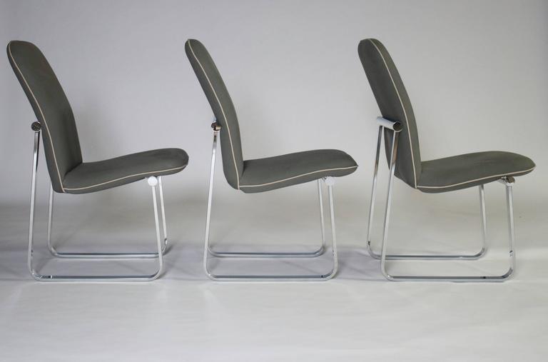 Design Institute of America Dining Chairs, Set of Three 4