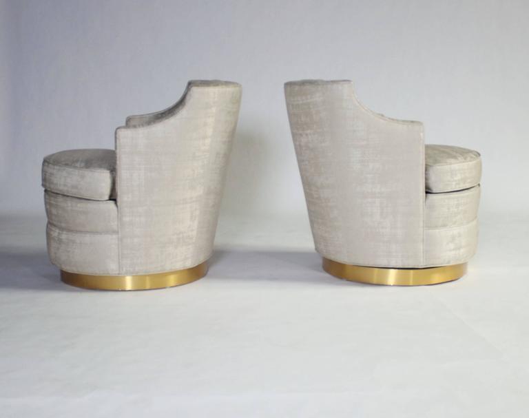 Edward Wormley for Dunbar Swivel Chairs 2