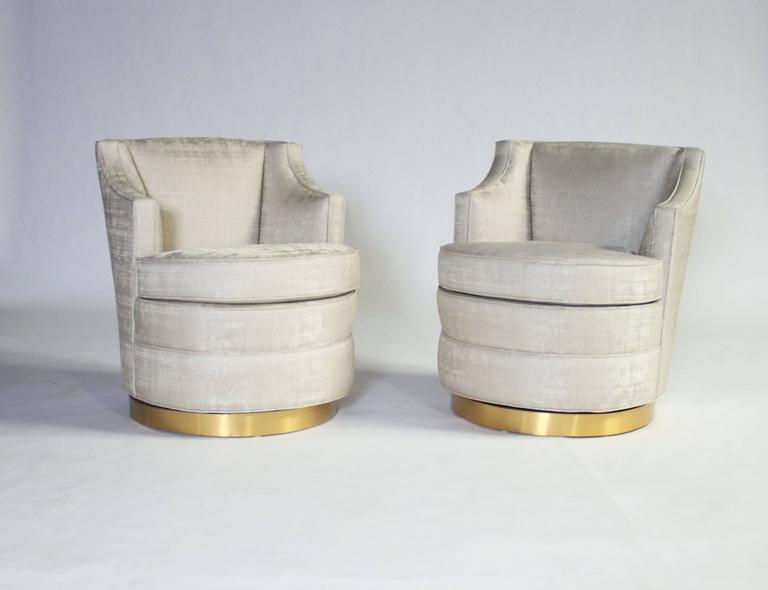 Edward Wormley for Dunbar Swivel Chairs 3