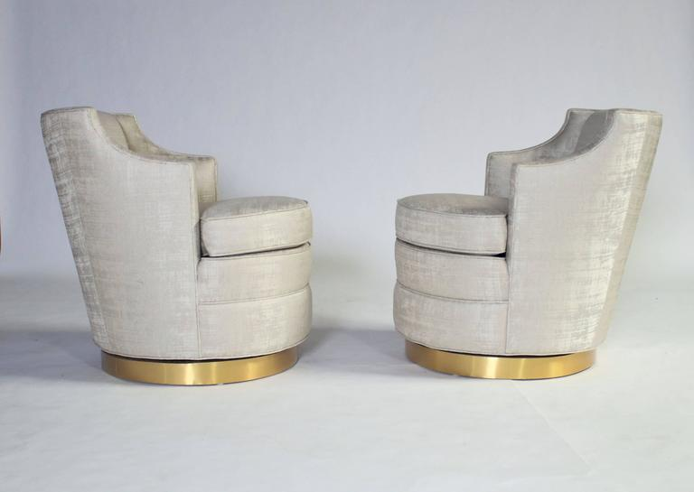 Edward Wormley for Dunbar Swivel Chairs 5