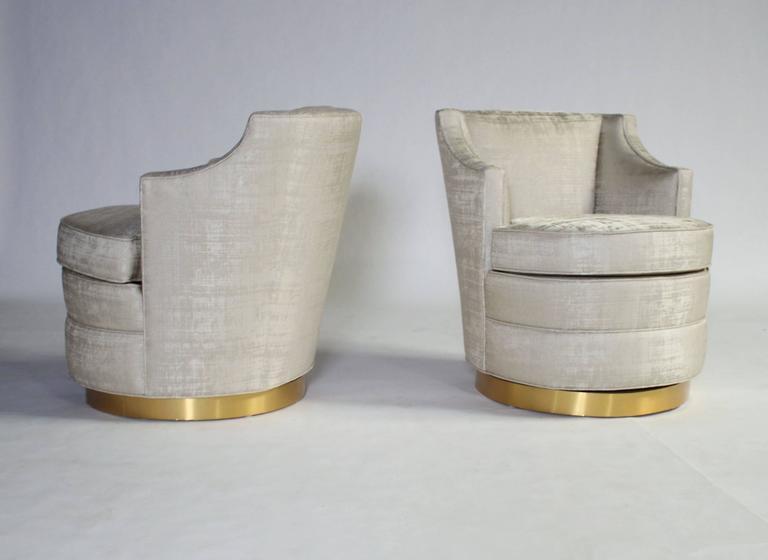 Edward Wormley for Dunbar Swivel Chairs 6
