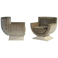 Richard Himmel Club Chairs