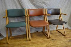 Dining Room Chairs from Stow / Davis, set of 3, circa 1960s