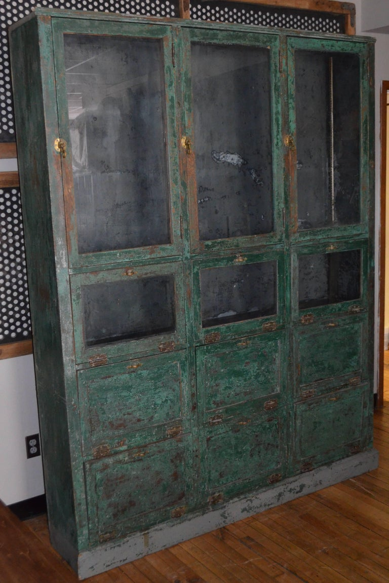 Storage Cabinet Cupboard From Late 1800s Used As Humidor