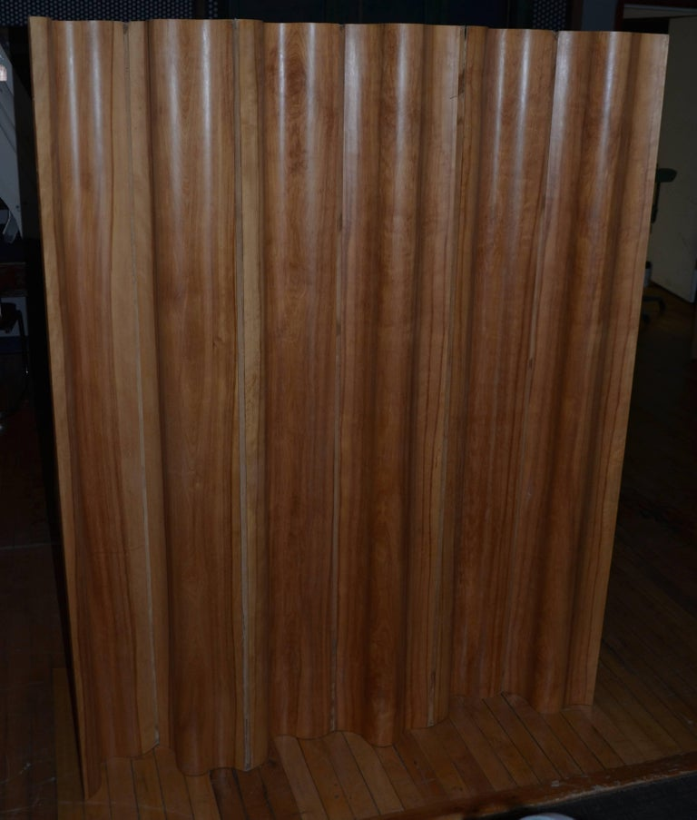 20th Century Herman Miller - Eames Six Panel, Calico Ash Screen, circa 1950s For Sale