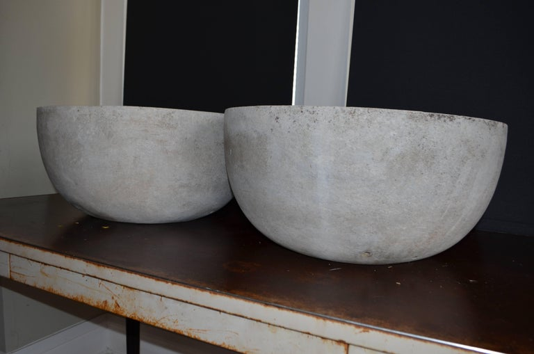 Willy Guhl Planter of Concrete Composite, Pair Available For Sale 1