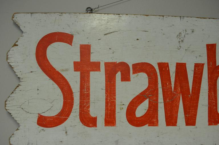 Pair of Farm Produce Signs, Hand-Lettered from the 1950s 3