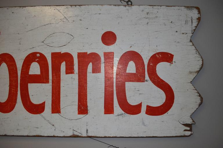 Pair of Farm Produce Signs, Hand-Lettered from the 1950s 4