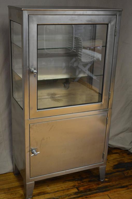 White medicine cabinet with