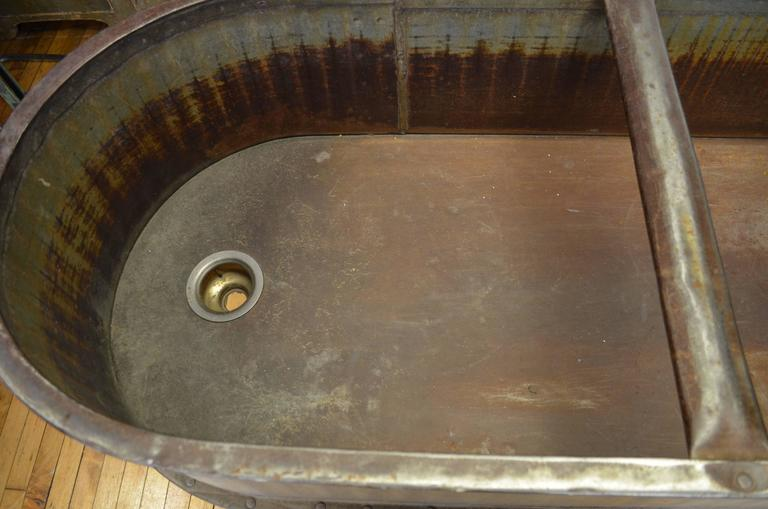 Agrarian Cattle Water Trough As Large Size Garden Planter