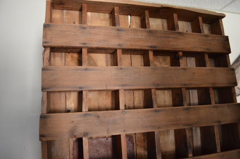 Primitive, Depression Era Farm Cabinet Hand-Built of Found
