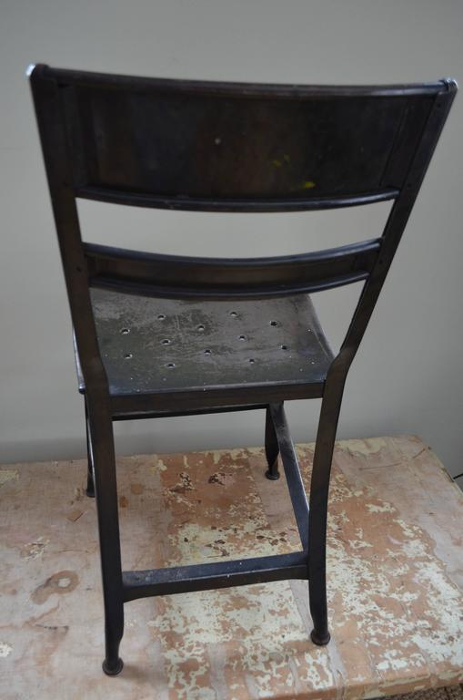 Toledo style steel dining chairs set of at stdibs