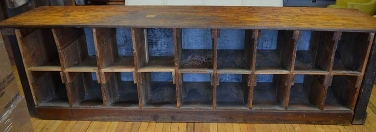 Late 1800s Hardware Store Counter Bar At 1stdibs