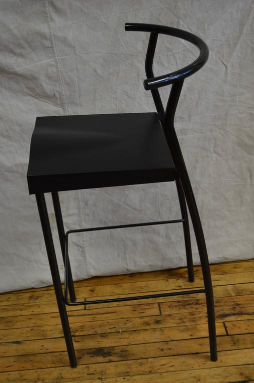 Bar Stool Designed By Philippe Starck For Kartell Of Italy