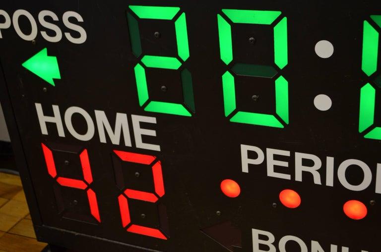 Steel Basketball Scoreboard from Daktronics For Sale