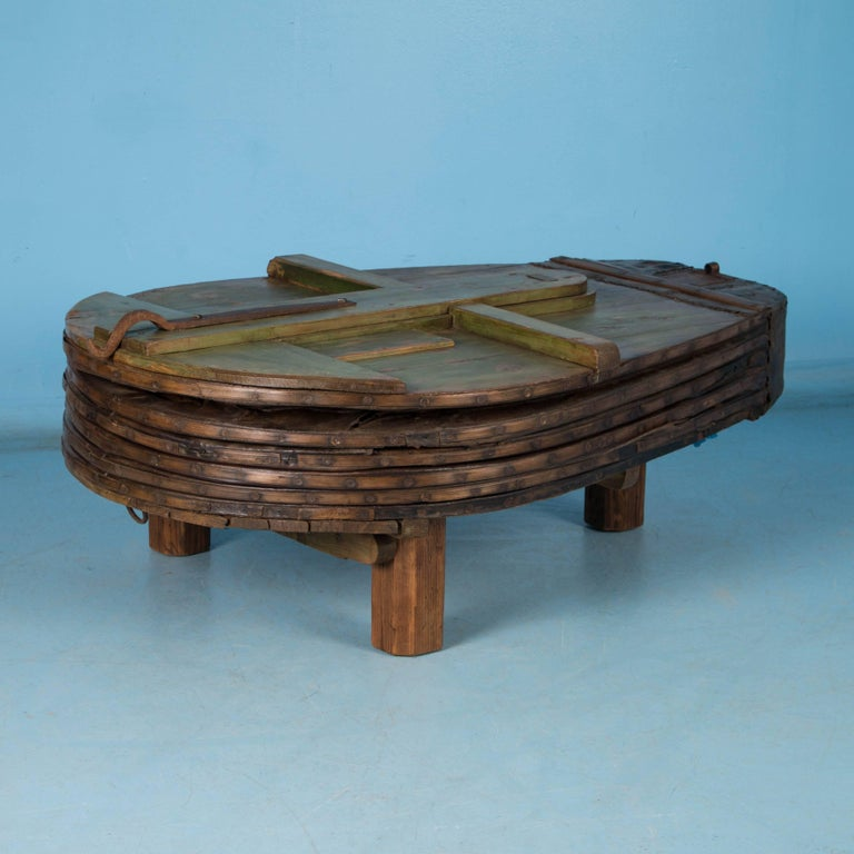 Large Antique Blacksmith S Bellows Coffee Table For Sale