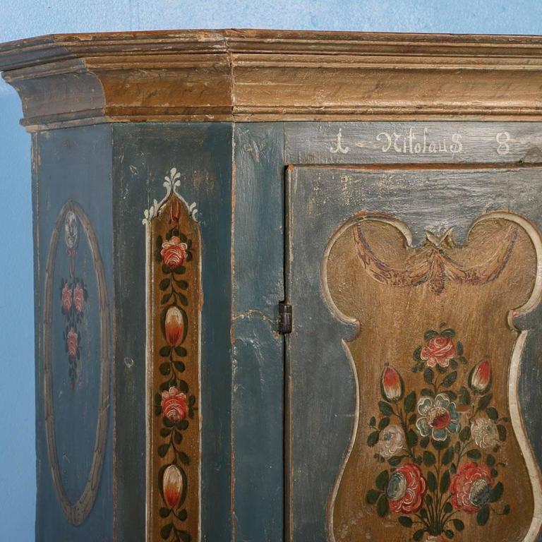Painted Chest Trunk Storage