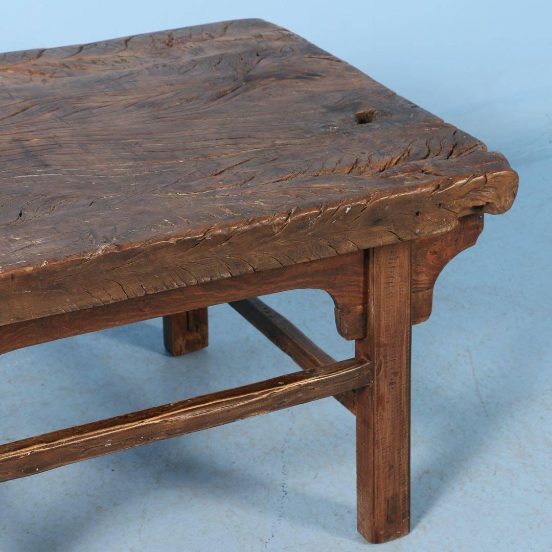 Antique Chinese Elm Side Table Or Small Coffee Table Circa 1820 At