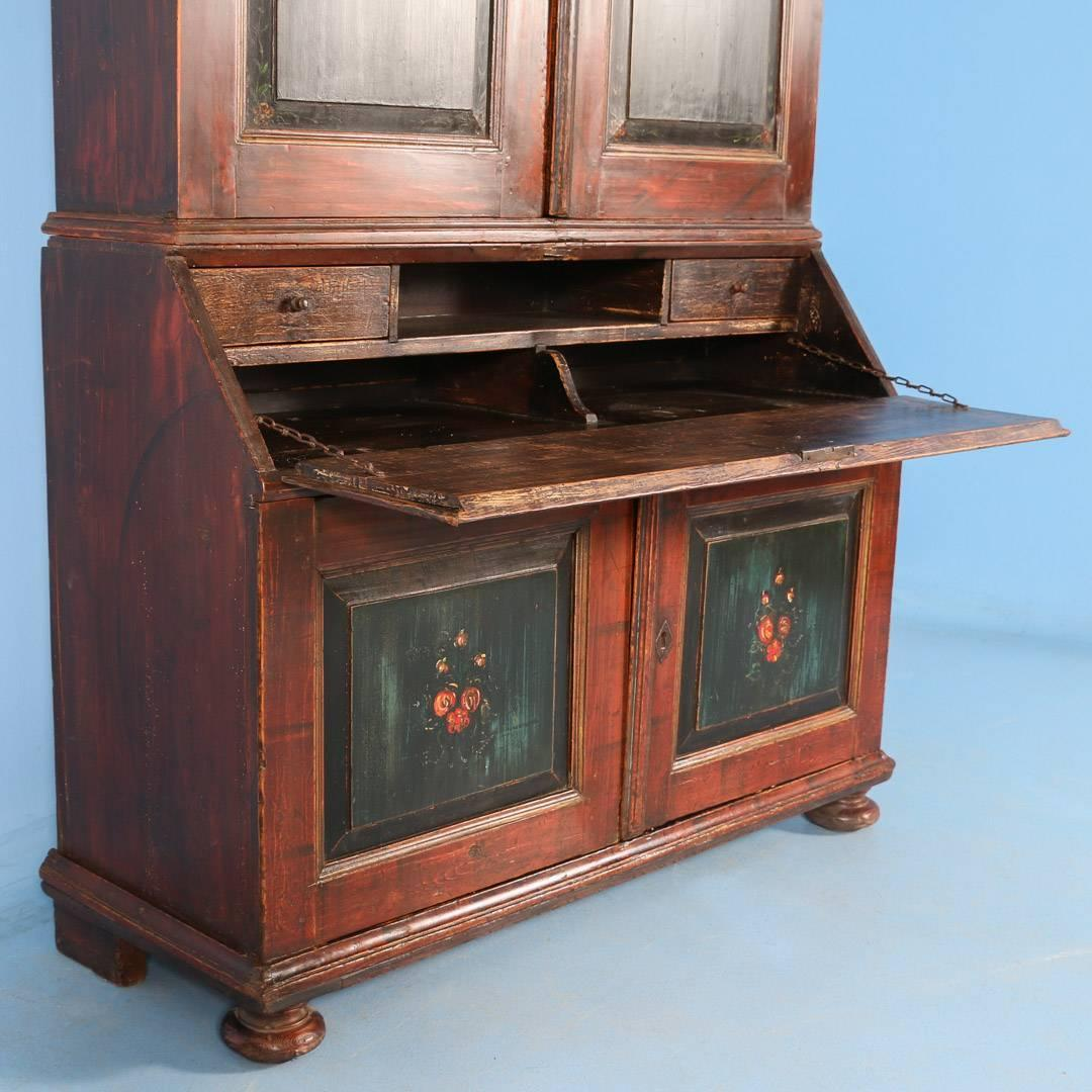 brown kitchen cabinet antique swedish cabinet with original painted 1831