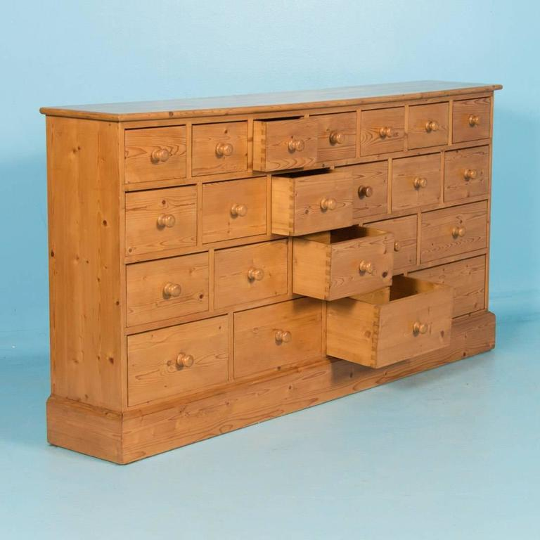 Antique danish pine multi drawer cabinet circa 1880 at for 1880 kitchen cabinets