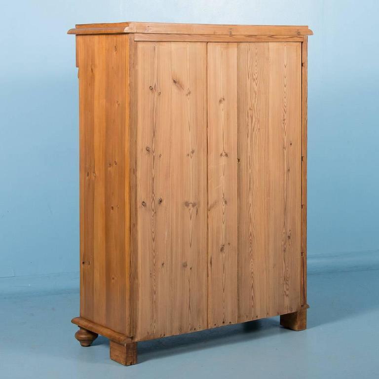 Antique Pine Secretary Desk From Sweden Circa 1860 For