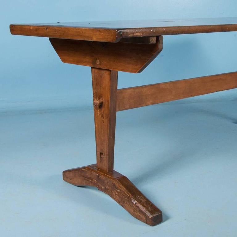 Antique Early American Country Harvest Table 19th Century At 1stdibs