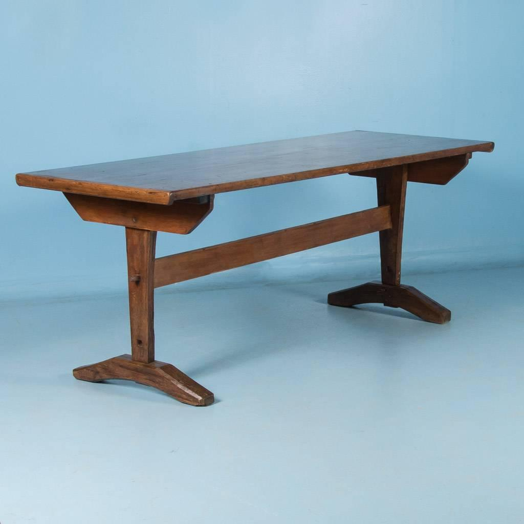 Antique Early American Country Harvest Table 19th Century For Sale At 1stdibs