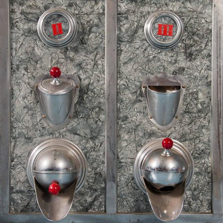 Vintage American Made Commercial Coffee Bean Dispenser At