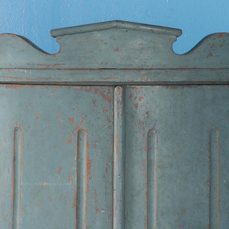 antique 19th century swedish gustavian pine corner cabinet m
