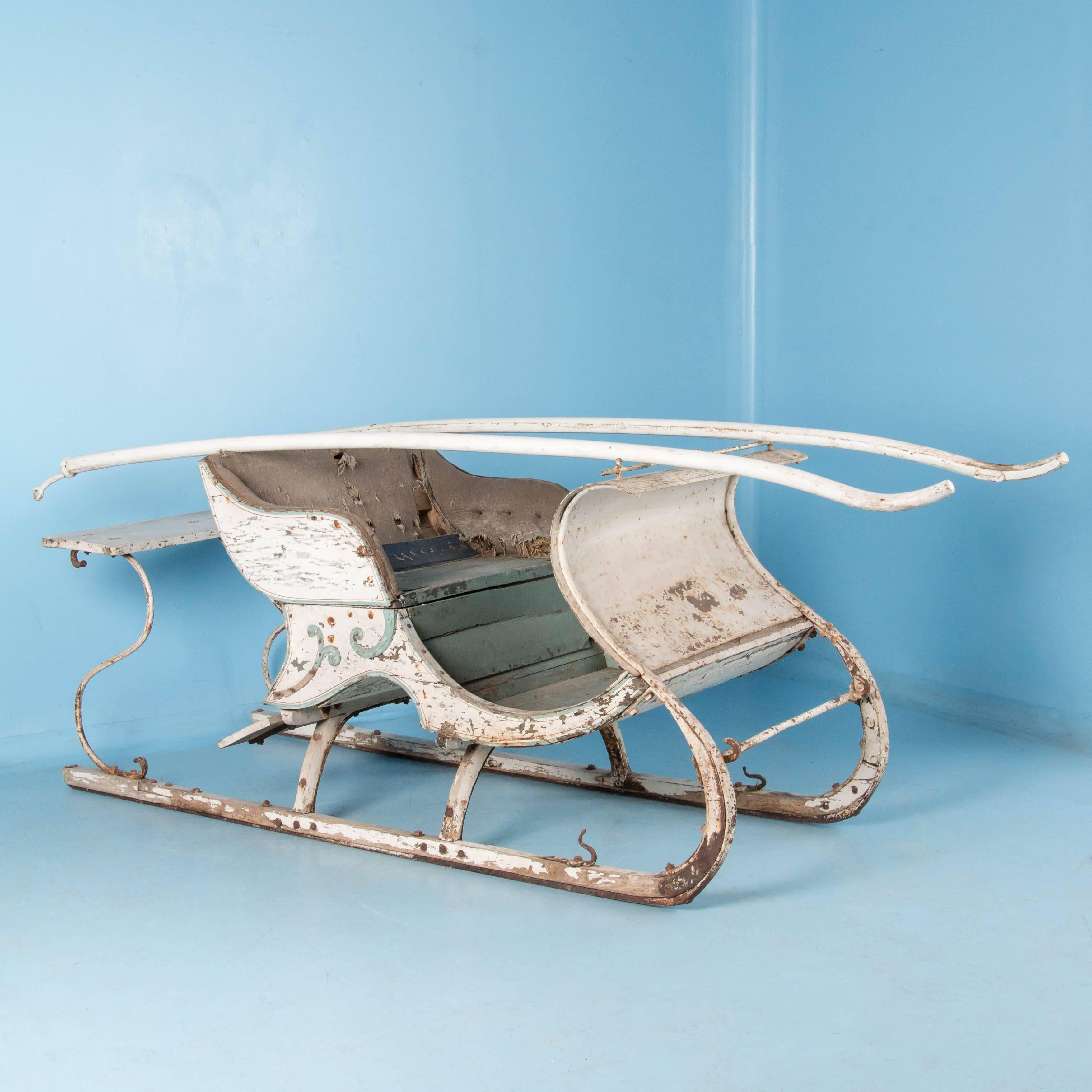 19th Century Swedish Horse Drawn Sleigh