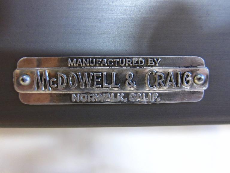 Mcdowell And Craig Steel Desk At 1stdibs