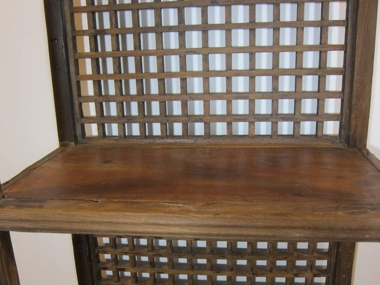 Early 20th Century Rustic Bookcase For Sale