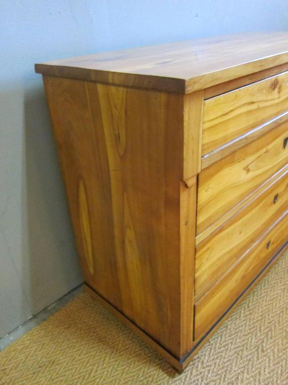 Biedermeier Chest of Drawers In Good Condition For Sale In New York, NY