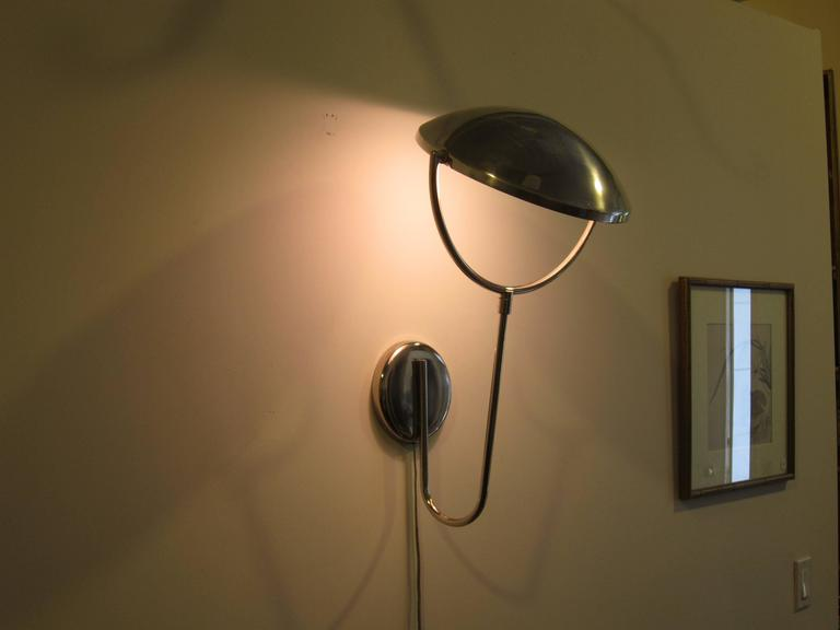 Wall Mount Articulating Lamp : Laurel Articulating Wall-Mounted Lamp For Sale at 1stdibs