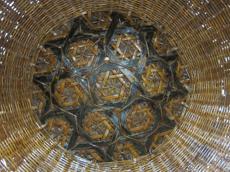 Antique Woven Basket Bowl For Sale At 1stdibs