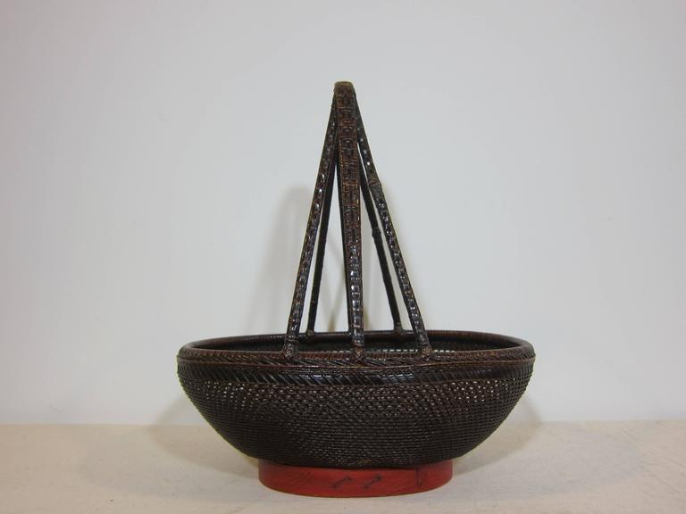 Chinese Antique Basket For Sale