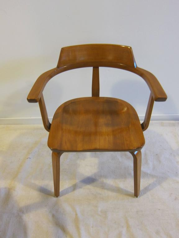 Walter Gropius Armchairs W199 Set of Eight For Sale 2
