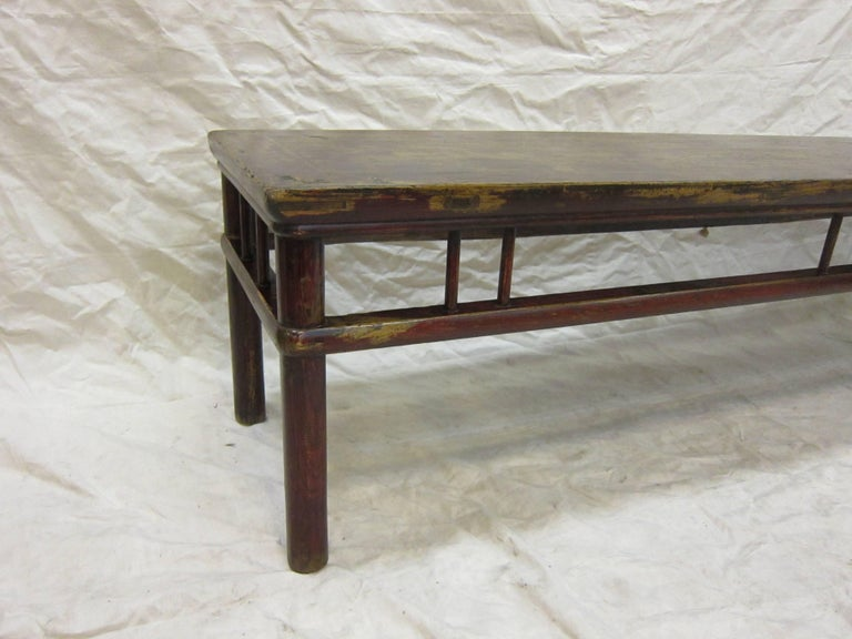 19th Century Day Bed coffee table 6