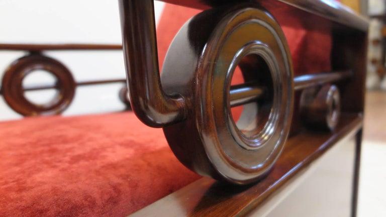 Pair Art Deco Club Chairs 5