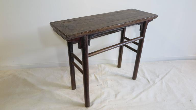 Qing 19th Century Console Table For Sale