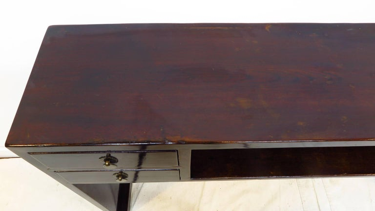 Qing 19th Century Compartment Console Table For Sale